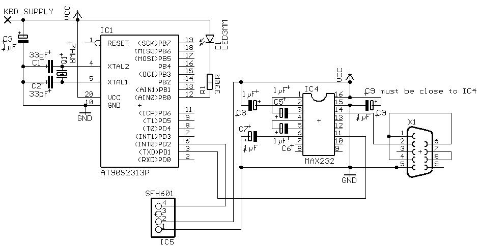 Avr Based Serial Port Ir Receiver